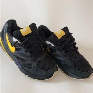 Nike Air Black and Yellow